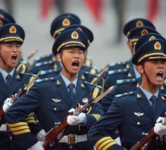 CHINA-CONGRESS-NPC-MILITARY